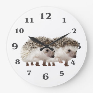 Hedgehog image for Acrylic Wall Clock