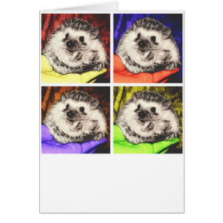 Hedgehog in Hand Art Card