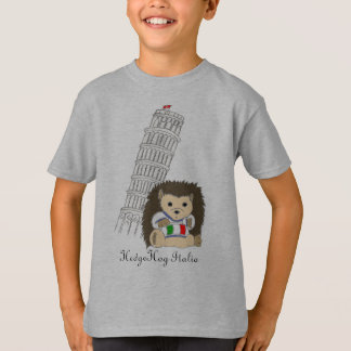 HedgeHog in Italy Tshirts