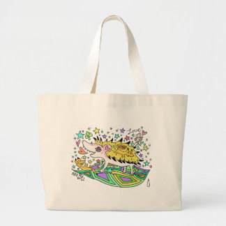 Hedgehog Love☆1 Large Tote Bag