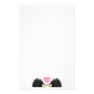 Hedgehog Love Stationery