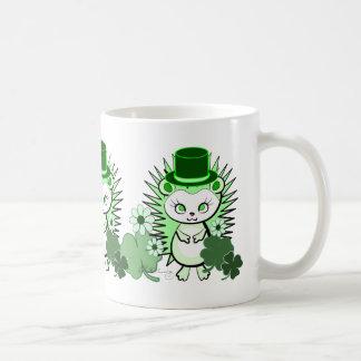 Hedgehog Lucky Irish Coffee Mug