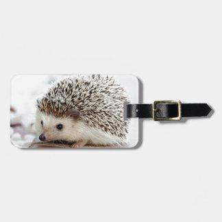 Hedgehog Luggage Tag