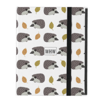 Hedgehog Pattern custom monogram device cases
