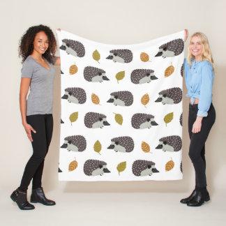 Hedgehog Pattern throw blankets