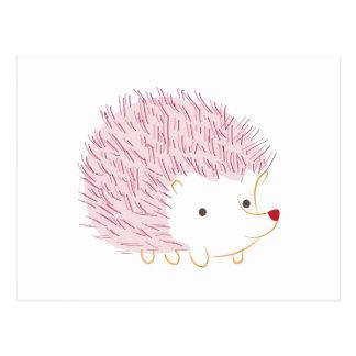Hedgehog Postcard