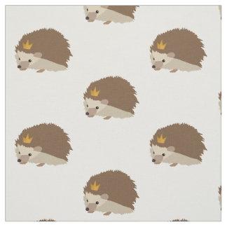 Hedgehog Print Fabric