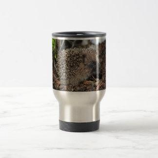 Hedgehog stainless steel travel mug