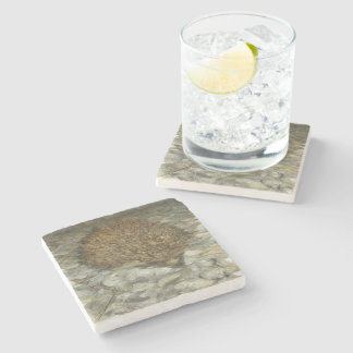 Hedgehog Stone Coaster