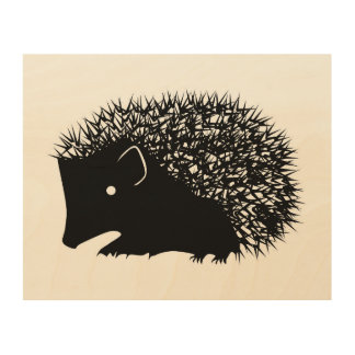 Hedgehog wall art
