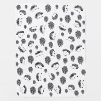Hedgehogs Baby Blanket
