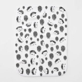 Hedgehogs Burp Cloth