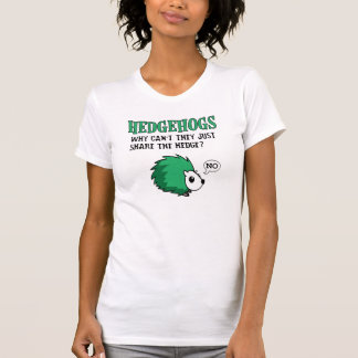 Hedgehogs Don't Share, funny, graphic, tshirt