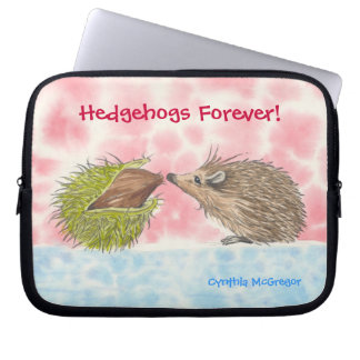 Hedgehogs Forever! Laptop Sleeve