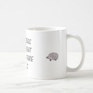 Hedgehogs make great acupuncture tools coffee mug