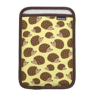 Hedgehogs seamless pattern iPad mini sleeve