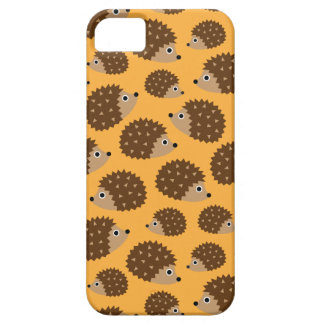 Hedgehogs seamless pattern (ver.4) barely there iPhone 5 case