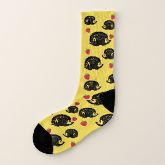 Hedgehogs & Strawberries - Socks Rock! 1
