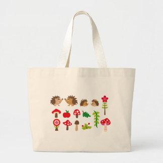 hedgehogsBall Large Tote Bag