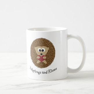 Hedgehugs and Kisses Hedgehog Coffee Mug