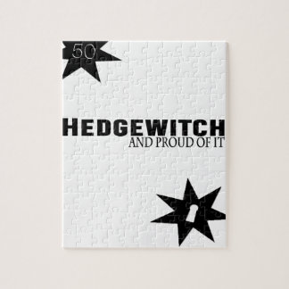 Hedgewitch and Proud of It Jigsaw Puzzle
