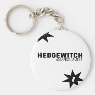 Hedgewitch and Proud of It Key Ring