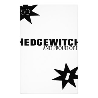 Hedgewitch and Proud of It Stationery