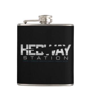 HEDWAY Station flask (black)