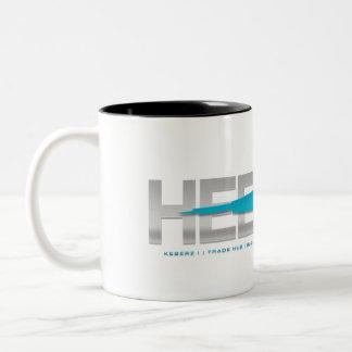 HEDWAY Station two-toned space mug! Two-Tone Coffee Mug
