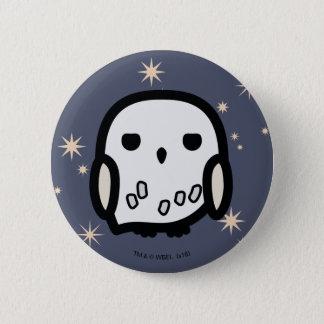 Hedwig Cartoon Character Art 6 Cm Round Badge