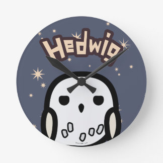 Hedwig Cartoon Character Art Clocks