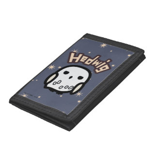 Hedwig Cartoon Character Art Trifold Wallet