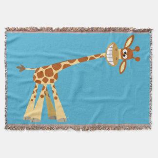 Hee Hee Hee!! Cute Silly Cartoon Giraffe
