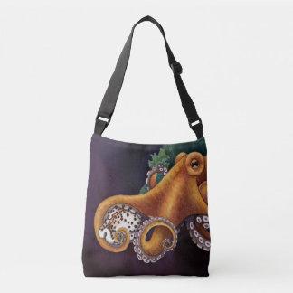 He'e (octopus) with Cowry Crossbody Bag