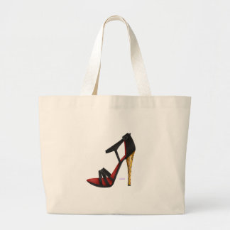 Heeled Evening Sandal Tote