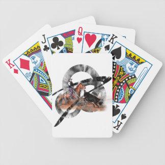 Heeler Bicycle Playing Cards
