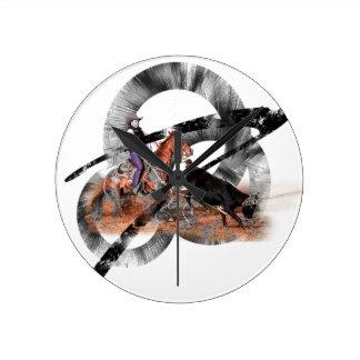 Heeler Round Clock