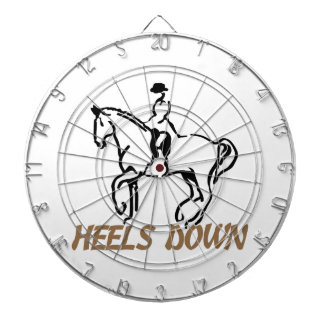 Heels Down Dart Boards