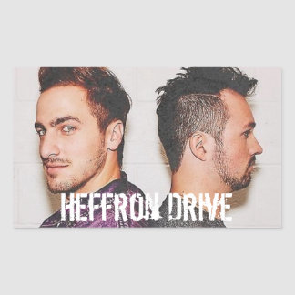 Heffron Drive Rectangular Sticker