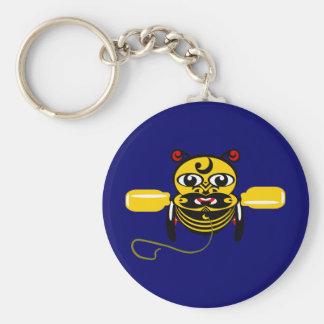 Hei Tiki Bee Toy Kiwiana Keychains