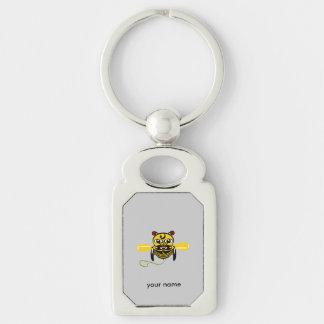 Hei Tiki Bee Toy Kiwiana Key Chains