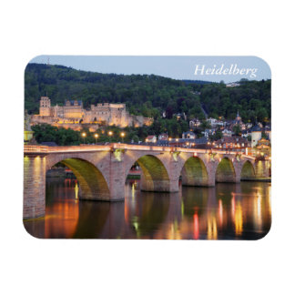 Heidelberg by evening light magnet