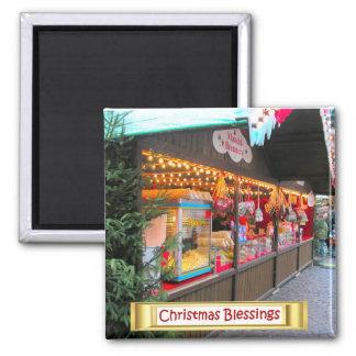Heidelberg Christmas Market,  Market stalls Magnets
