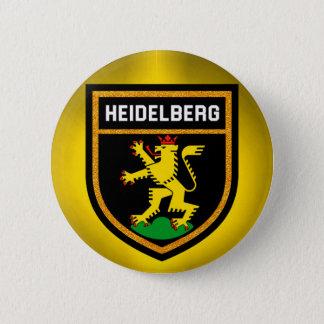 Heidelberg Flag 6 Cm Round Badge