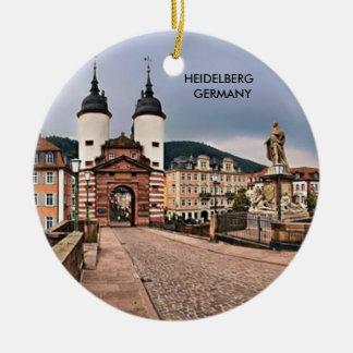 HEIDELBERG GERMANY CERAMIC ORNAMENT