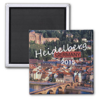 Heidelberg Germany Souvenir Magnet Change Year