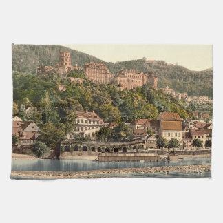 Heidelberg II, Baden-Württemberg, Germany Tea Towel