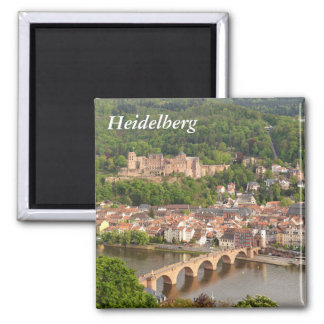 Heidelberg panoramic view magnet