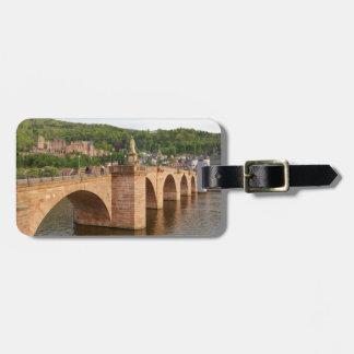 Heidelberg view with the Neckar Luggage Tag