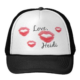 Heidi Selexa (Stern) Fan Club Love Lips Kisses Hot Cap